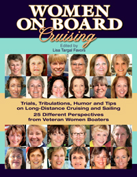 Women On Board Cruising, Digital Book Cover