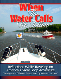 When the Water Calls, Book Cover