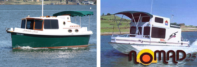 Have You Heard About Either Of These Trailerable Trawlers?