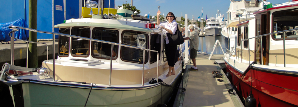 Lisa On Ranger Tugs R27