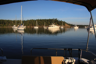 GarrisonBayAnchor 68 Peaceful Nights   Garrison Bay, San Juan Island