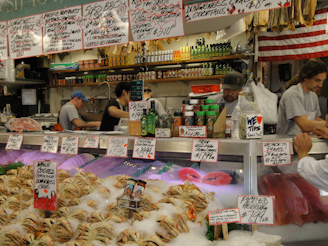 PikePlaceMarket 13 On a Mission... First Comes the Fish