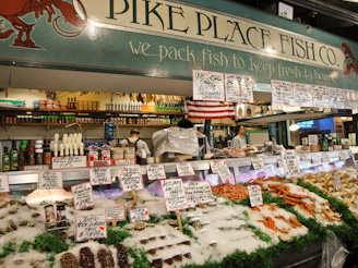 PikePlaceMarket 17 On a Mission... First Comes the Fish