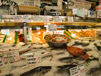 PikePlaceMarket 47 On a Mission... First Comes the Fish