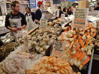 PikePlaceMarket 53 On a Mission... First Comes the Fish