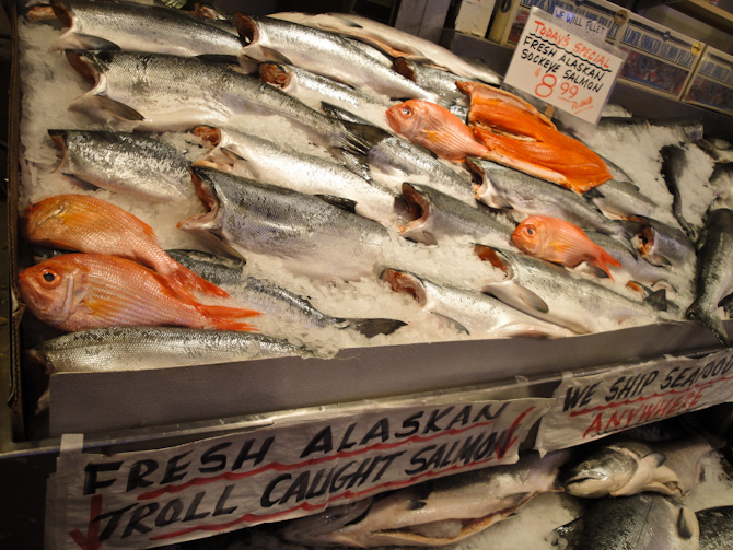PikePlaceMarket 57b On a Mission... First Comes the Fish