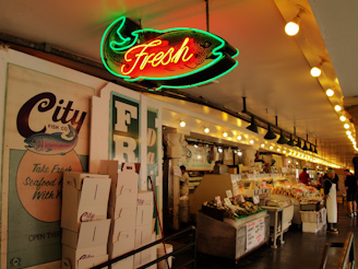 PikePlaceMarket 70 On a Mission... First Comes the Fish