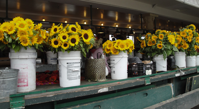 PikePlaceMarket 91 Almost Finished.... The Flowers