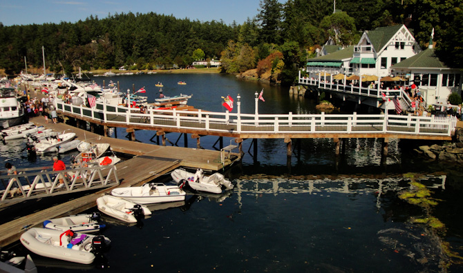 A Big Welcome To Roche Harbor