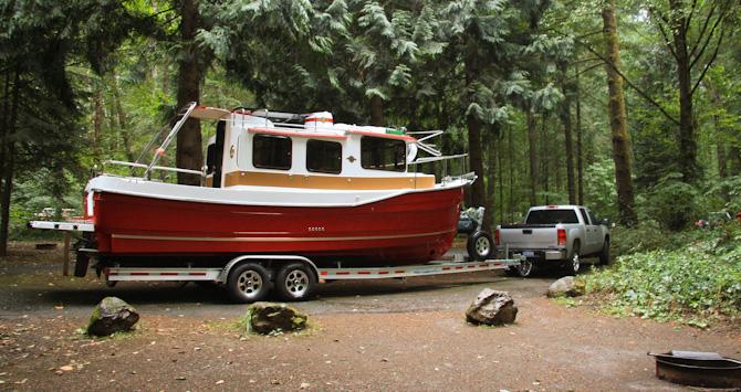Boaterhoming Battle Ground State Park, Oregon