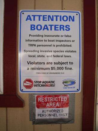 BoatInspection 13 1 Lake Tahoe Takes Its Clean Water Seriously