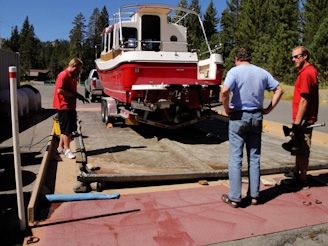Kismet Boat Inspection, Lake Tahoe