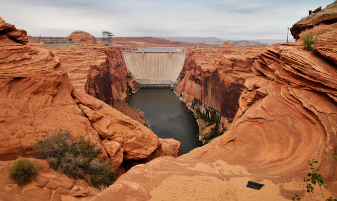 Glen Canyon Dam, Lake Powell