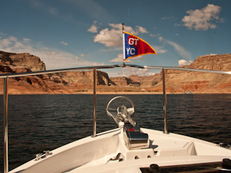 ToPadreBayCanyon 106 Beach Anchoring on Lake Powell