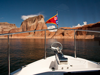 ToPadreBayCanyon 41 Beach Anchoring on Lake Powell