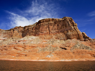 ToPadreBayCanyon 89 Beach Anchoring on Lake Powell