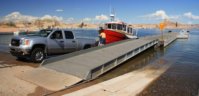 Launching Kismet, Lake Powell