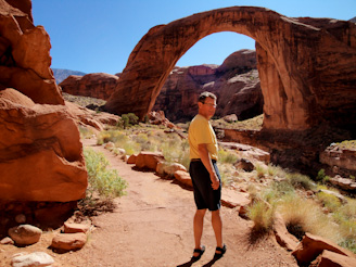 Rainbow Bridge, Lake Powell