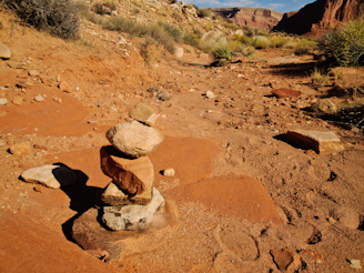 Stone sculpture, Dungeon Canyon, Lake Powell