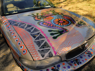 artsy car
