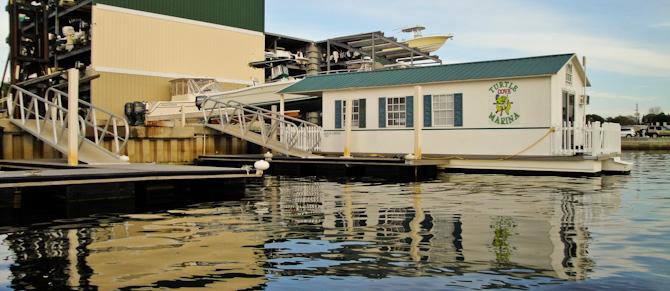 Turtle Cove Marina Tarpon Springs Florida