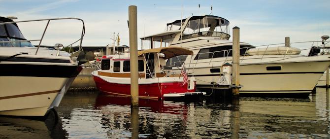 Kismet Docked, Tarpon Springs, Florida