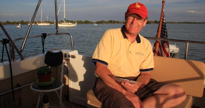 Kismet At Anchor, Cayo Costa, Florida