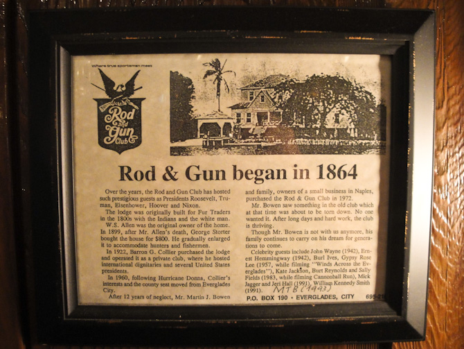 EvergladesCity 28 Going Back in Time at Everglade Citys Rod and Gun Club