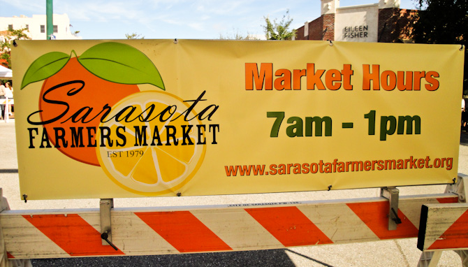 FarmersMarket55 Time for Some Big City Action in Sarasota