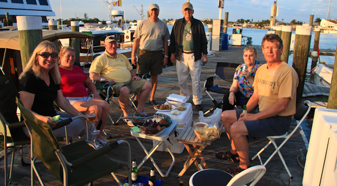 FortMyersBeachh 38 Shrimp Night – Dockside