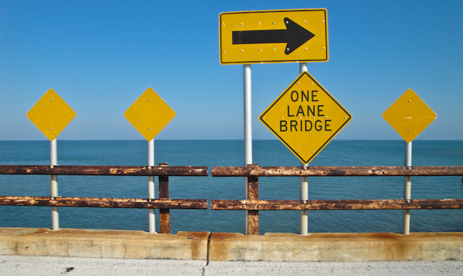 Seven-mile Bridge, Marathon, Florida