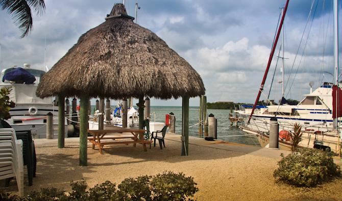Kismet At Dock, Harbour Cay Club, Marathon