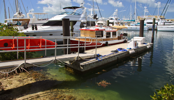 Kismet Docked, Key West Harbor, Stock Island