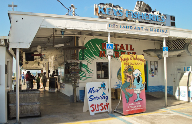 KeysFisheries 1 Happy Hour Special – Stone Crabs at Keys Fisheries