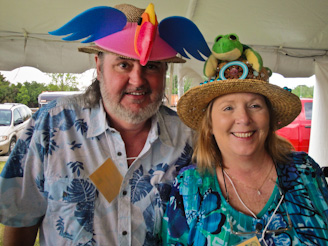 FernandinaBeach259 Crazy Hat Beach Party and Low Country Boil