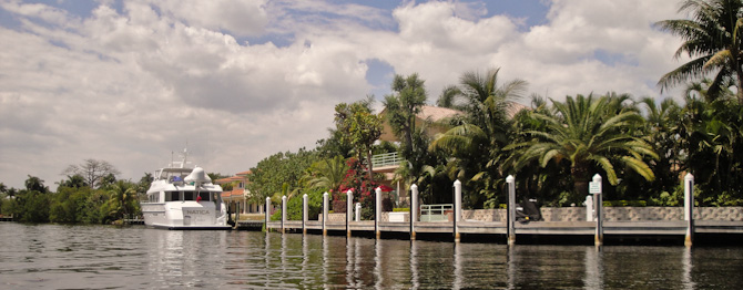 FortLauderdale 61 Idling Up New River – Dinghy Ride