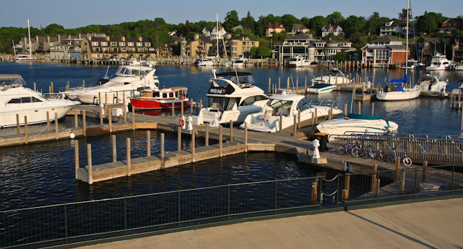 Charlevoix City Marina And Park, Charlevoix, Michigan
