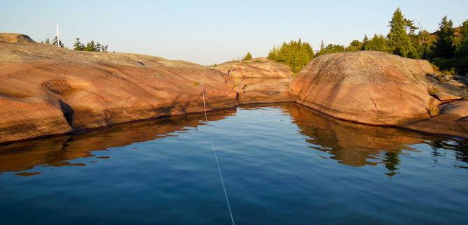 Anchor Line To Rock, South Benjamin, North Channel