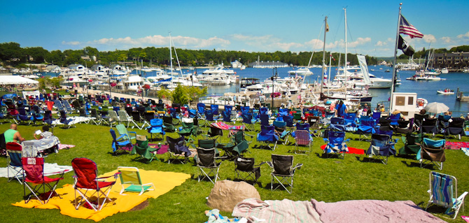 Festival Charlevoix Harbor, Charlevoix, Michigan