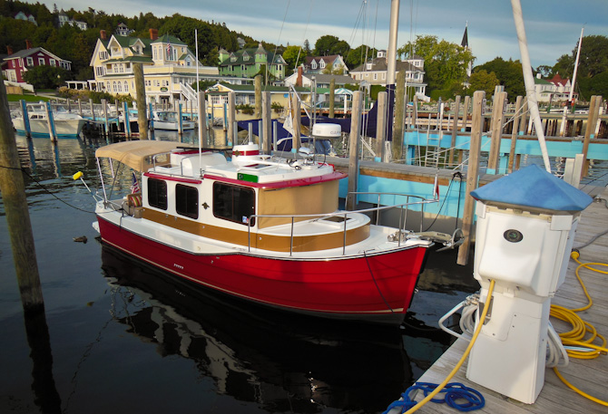 Ranger Tugs Kismet At Mackinaw Island Dock