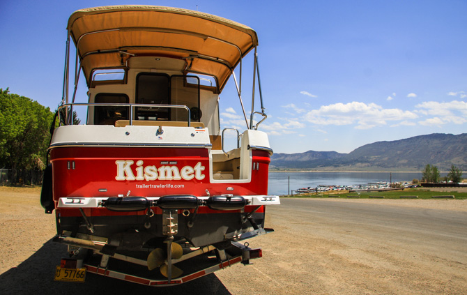 Launching Kismet, Flaming Gorge Reservoir