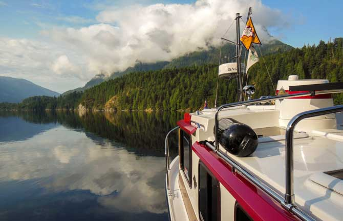 Trailerable Trawler – Pendrell Sound, Desolation Sound