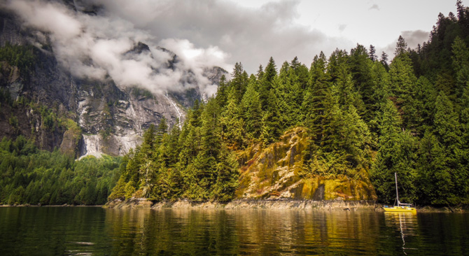 Princess Louisa Inlet Provincial Marine Park – The Inner Sanctum