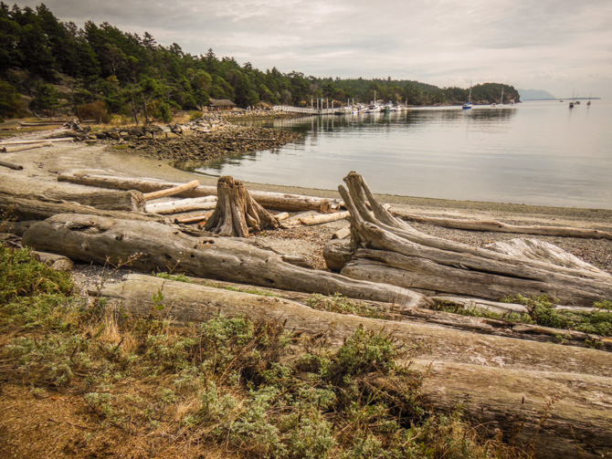 Hiking On Sucia Island – Caves, Rock Formations And Beautiful Pacific Madrona Trees