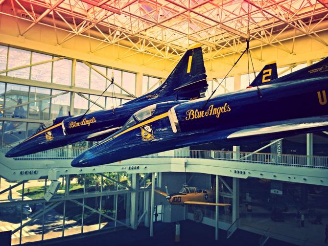 Orange Beach 12 Staying at Orange Beach Marina – Visiting the National Naval Aviation Museum