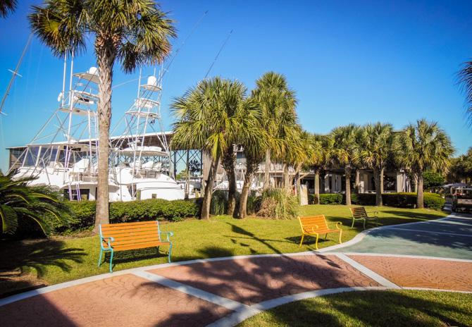 Orange Beach 4 Staying at Orange Beach Marina – Visiting the National Naval Aviation Museum