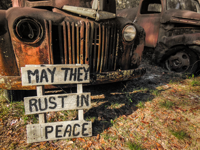 If You Rest… You Rust!