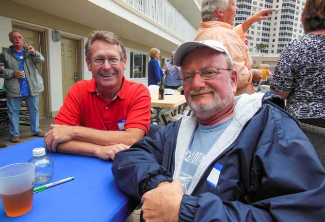 Friends, Jim Favors And Tom Conrad