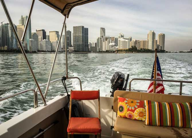 Miami – A Last Glimpse Back At The Skyline
