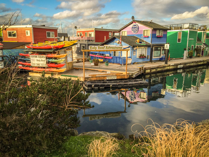 Fishermans Wharf Victoria BC, Canada